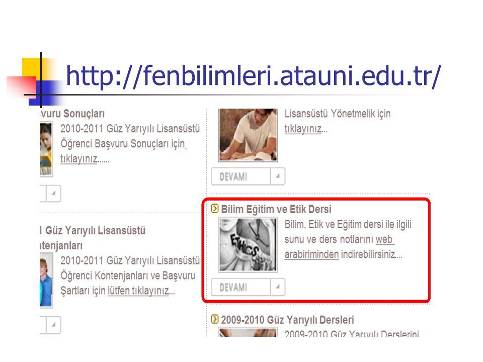 http://fenbilimleri.atauni.edu.tr/