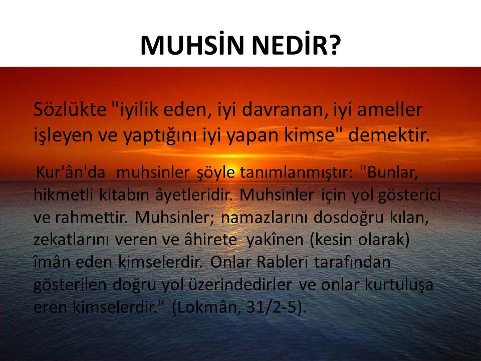 KUR'AN'DA ALLAH'IN SEVMEDİKLERİ Allah, aşırı gidenleri sevmez.