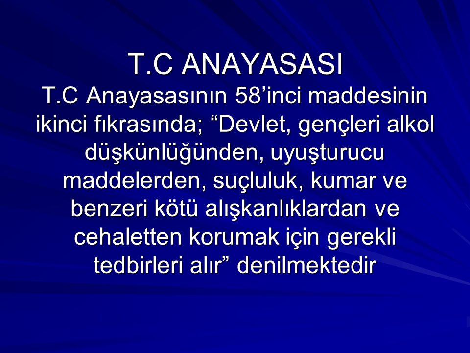 MİLLİ EĞİTİM TEMEL KANUNU Milli Eğitim Temel Kanunu'nun ikinci maddesinin ikinci fıkrasında; Türk milletinin bütün fertlerini, beden, zihin, ahlak ve duygu bakımından dengeli kişiler olarak yetiştirmek Türk Milli Eğitiminin genel amaçları arasında yer almaktadır.