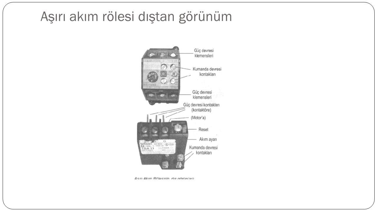 faz koruma rölesi Üç faz ile çalı ş an motorlarda R-S-T fazlarından birisi kesildi ğ inde motor çalı ş maya devam eder.