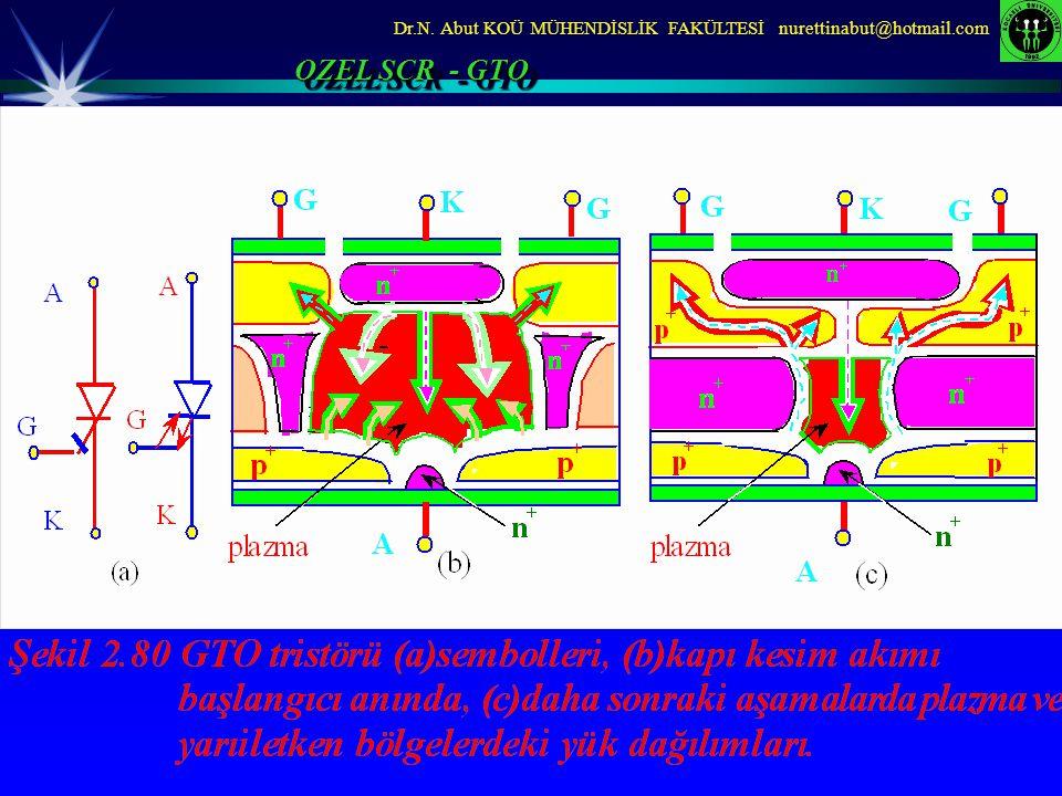 Dr.N. Abut KOÜ MÜHENDİSLİK FAKÜLTESİ nurettinabut@hotmail.com OZEL SCR - GTO
