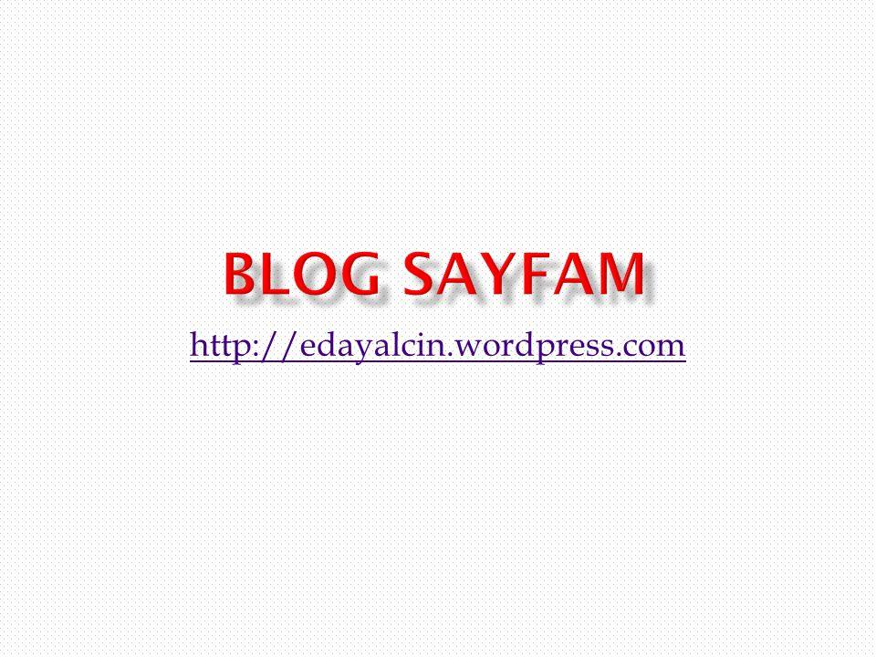 http://edayalcin.wordpress.com
