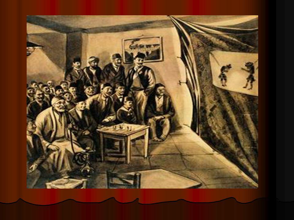 KARAGÖZ-HACİVAT YAPIMINDAN GÖRÜNTÜLER Karagöz ve Hacivat ı çok seven ve ölümlerine çok üzülen Şeyh Küşteri, ölümlerinin ardından kuklalarını yaparak perde arkasından oynatmaya başlar