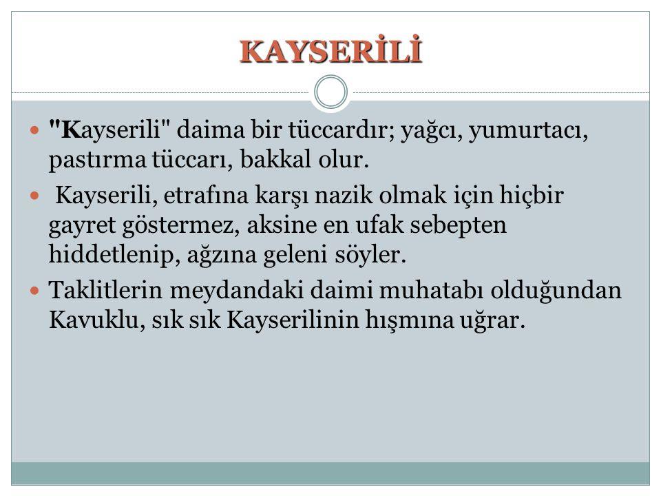 KAYSERİLİ