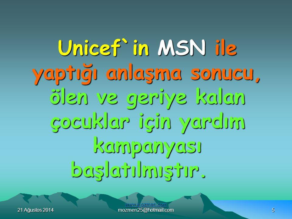 21 Ağustos 201421 Ağustos 201421 Ağustos 2014 www.e-ozmen.com www.e-ozmen.com mozmen25@hotmail.com15 BU MAILI TÜM YAKINLARIMIZA YOLLAYALIM...