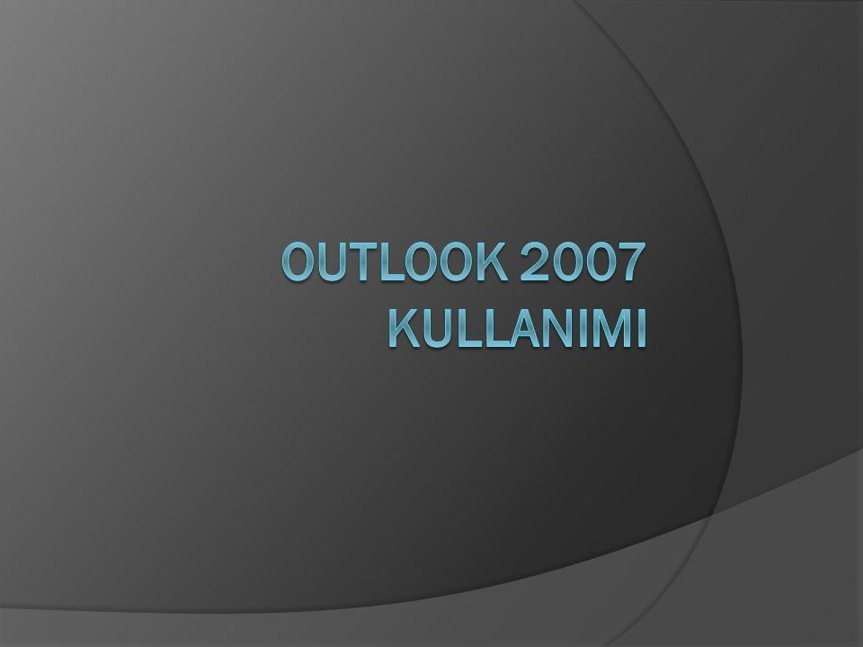 Office 2007 kurulumunu yaptıktan sonra Başlat->Programlar-> Microsoft Office->Microsoft Office Outlook 2007->Gönder -> Masaüstü (kısayol oluştur) yolunu takip ederek Outlook kısayolunu oluşturuyoruz.