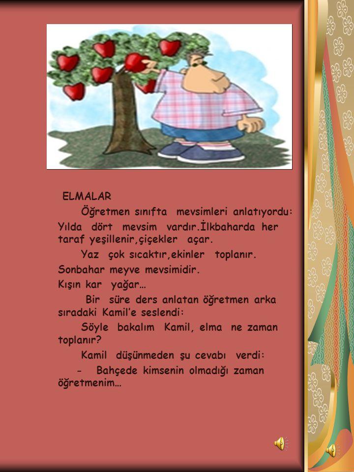 NEDEN ? İlkokula yeni başlayan Volkan, akşam babasına : - Ben bu öğretmende okumak istemiyorum,dedi. Babası: Neden oğlum? Diye sordu. - Bu öğretmen hi
