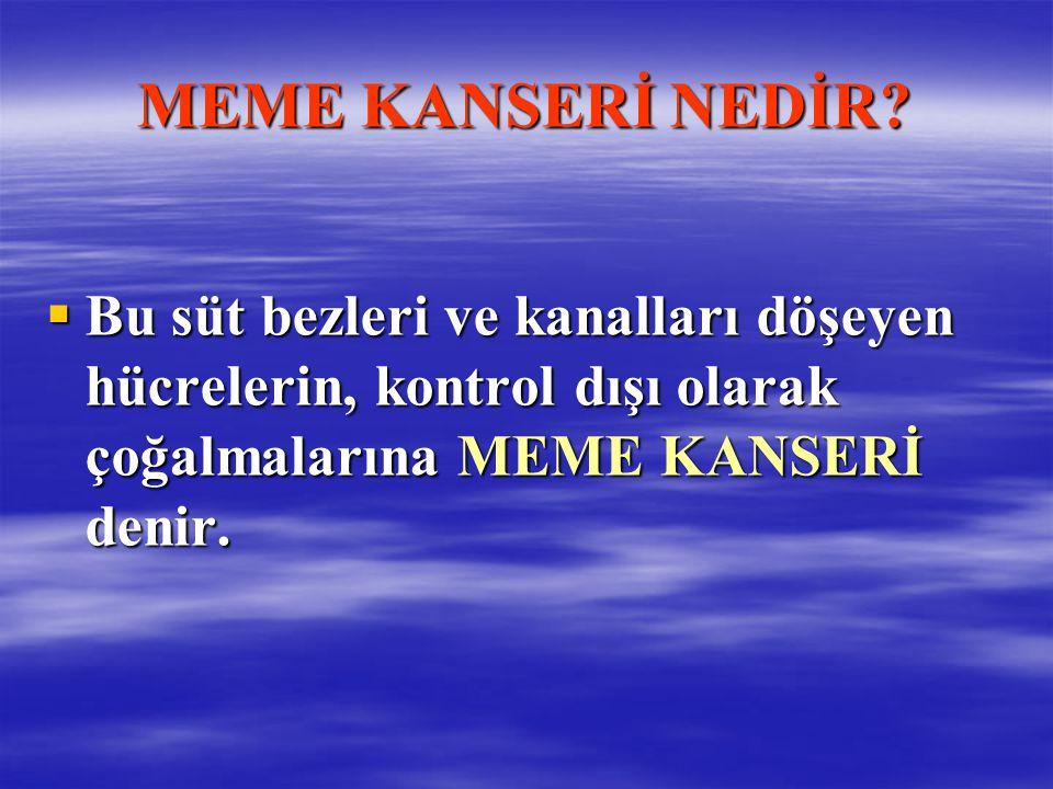 MEME KANSERİ NEDİR.