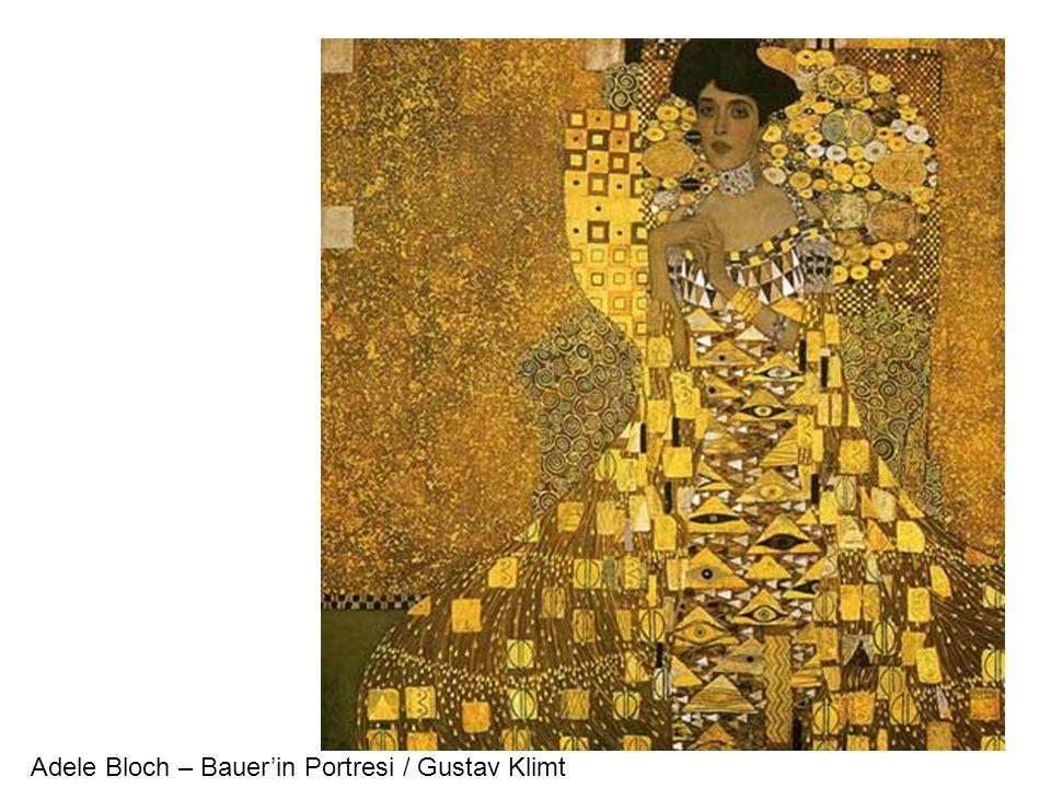Adele Bloch – Bauer'in Portresi / Gustav Klimt