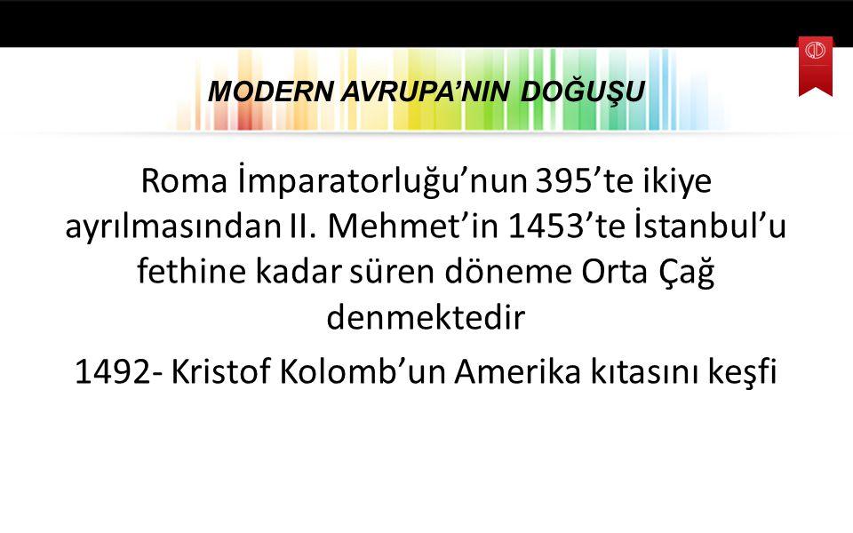 AVRUPA GELİŞMELERİNİN OSMANLI'YA ETKİLERİ 19.
