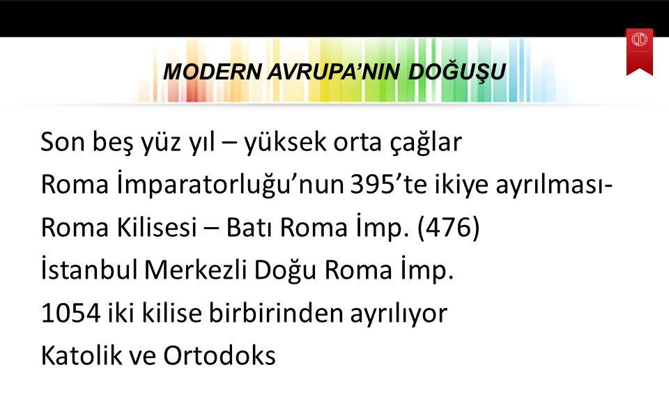 SANAYİ DEVRİMİ VE EMPERYALİZM AVRUPALI BÜYÜK DEVLETLERİN 19.