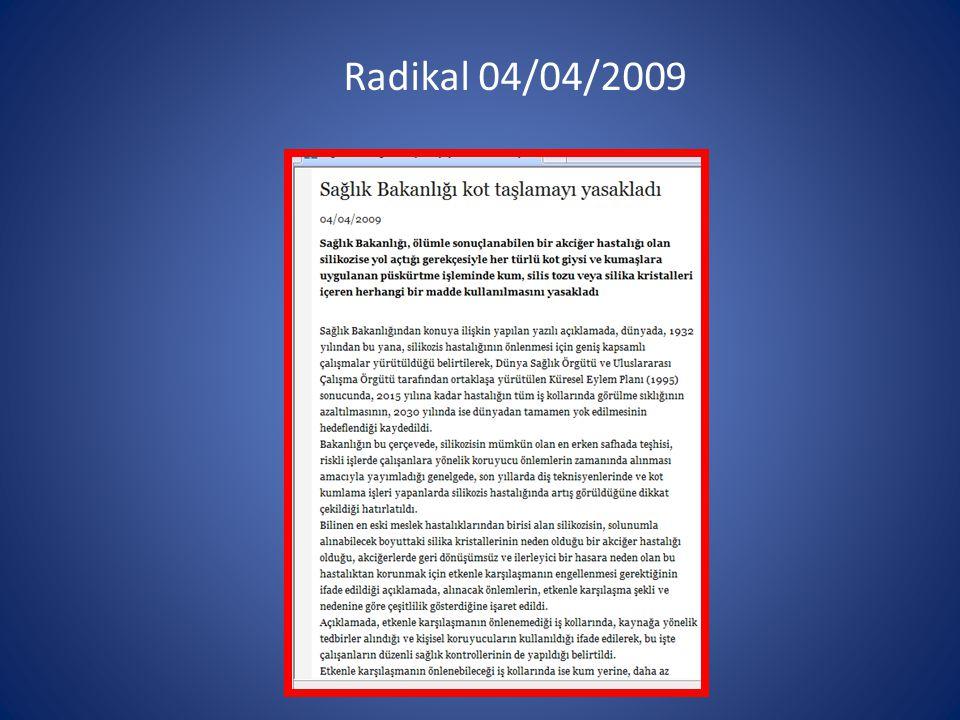Radikal 04/04/2009