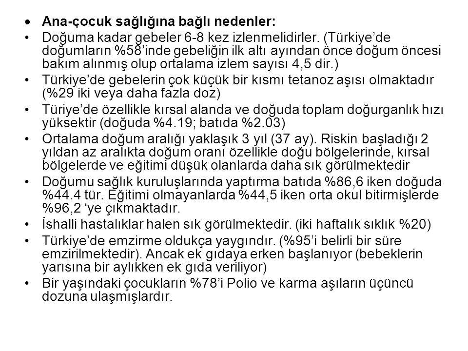 SAKATLIĞIN OLUŞMASINDAKİ TEMEL FAKTÖRLER Genetik Faktörler: –Akraba evlilikleri- Türkiye'deki evliliklerin %22-25'i akraba evlilikleridir. Bu evlilikl