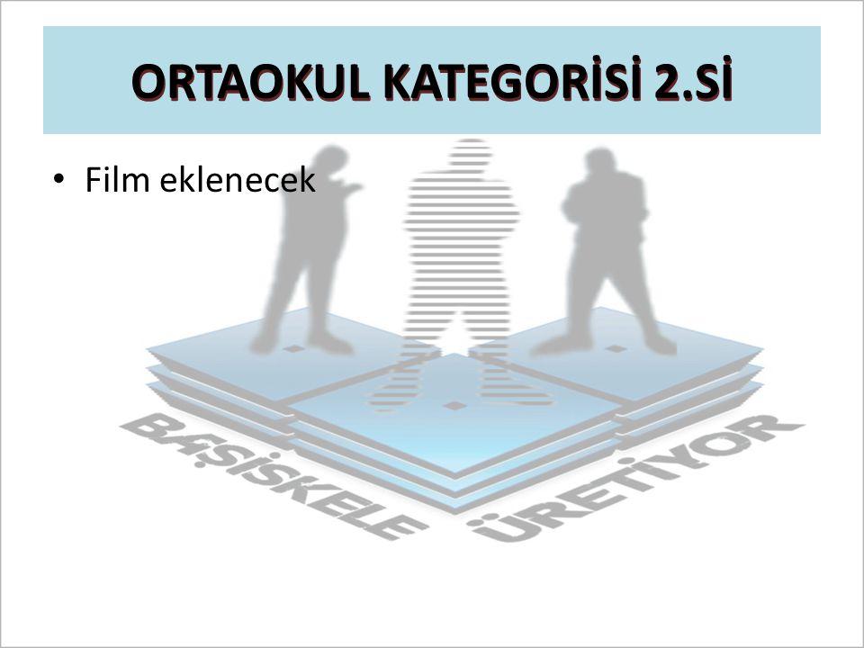 ORTAOKUL KATEGORİSİ 2.Sİ Film eklenecek