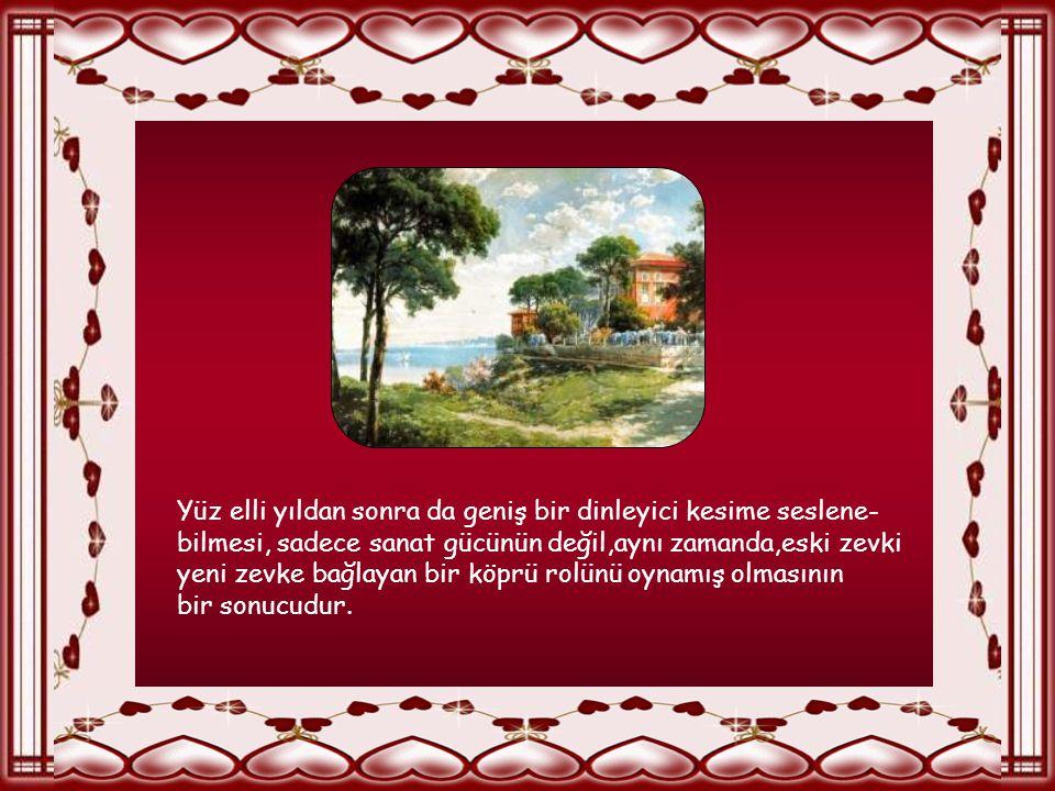 İsmail Dede hem Mevlevi gelenekleri içinde yetişmişti, hem de bir saray adamıydı. Kendisi de besteci olan Sultan III. Selim, onu saray hanendeleri ara