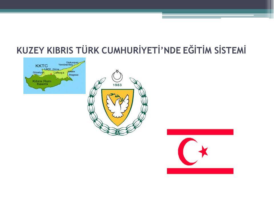 K.K.T.C.'de bulunan Üniversiteler: -Yakın Doğu Üniversitesi -Doğu Akdeniz Üniversitesi -Girne Amerikan Üniversitesi -Uluslararası Kıbrıs Üniversitesi -Lefke Avrupa Universitesi -Orta Doğu Teknik Universitesi Kuzey Kıbrıs Kampüsü -Akdeniz Karpaz Üniversitesi -Girne Üniversitesi -İstanbul Teknik Üniversitesi (Kampüsü)