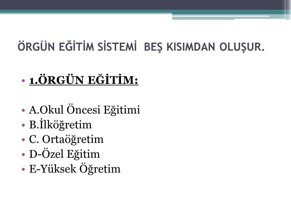 ÖZEL OKULLAR: Kuzey Kıbrıs Türk Cumhuriyeti'ndeki tüm özel okullar (İlköğretim, Ortaöğretim) Eğitim Bakanlığı'nın tüzük ve yöneltmelikleri doğrultusunda eğitim vermektedir.