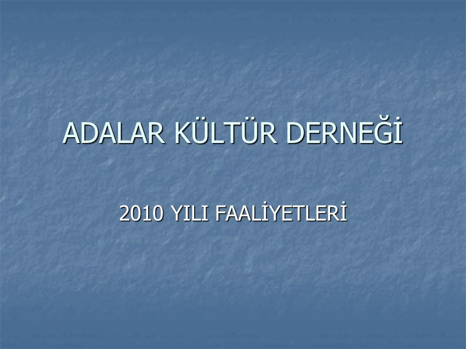 SERGİLER 18 - 23 Mayıs tarihlerinde Ahmet Oker'e ait resim sergisi Adalar İlçe Halk Kütüphanesi'nde yapıldı.