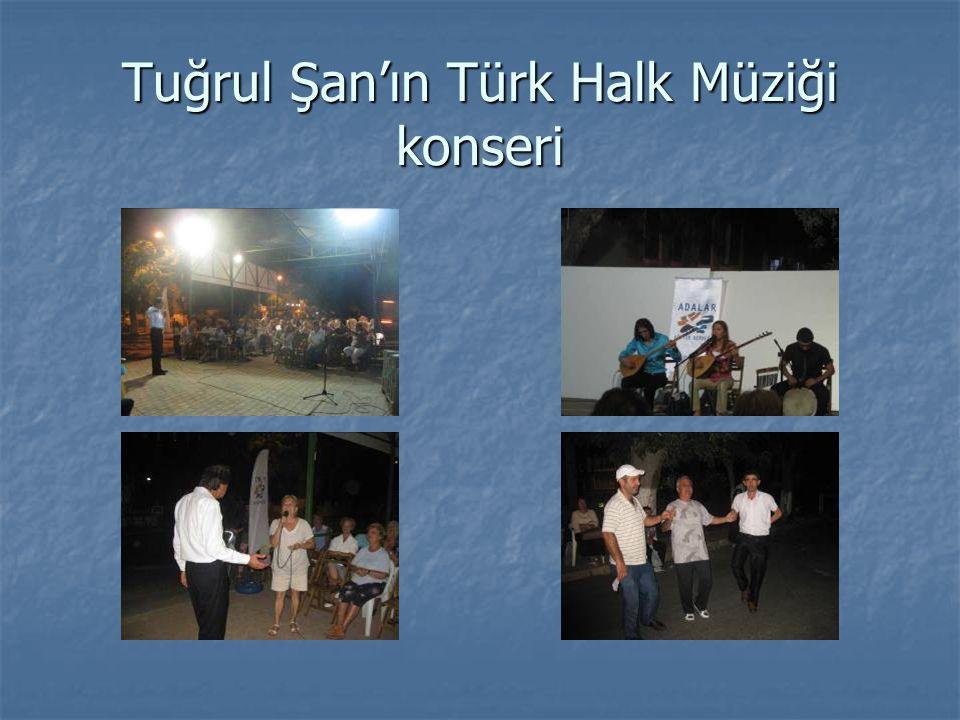 Tuğrul Şan'ın Türk Halk Müziği konseri