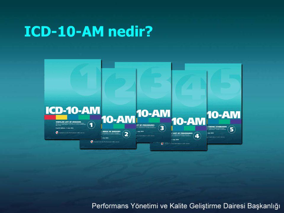 ICD-10-AM nedir?