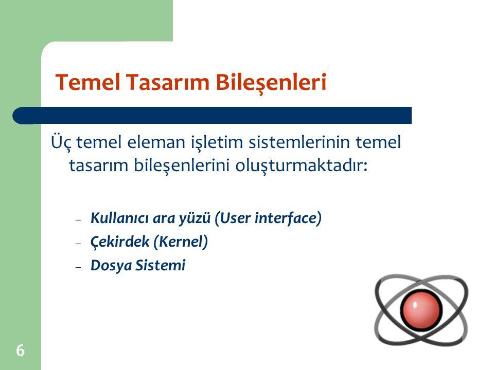 17 İşletim Sistemi Tipleri: Temel Terminoloji Bir İS'nin yeteneklerini anlayabilmek için bazı temel terimleri bilmek gereklidir.