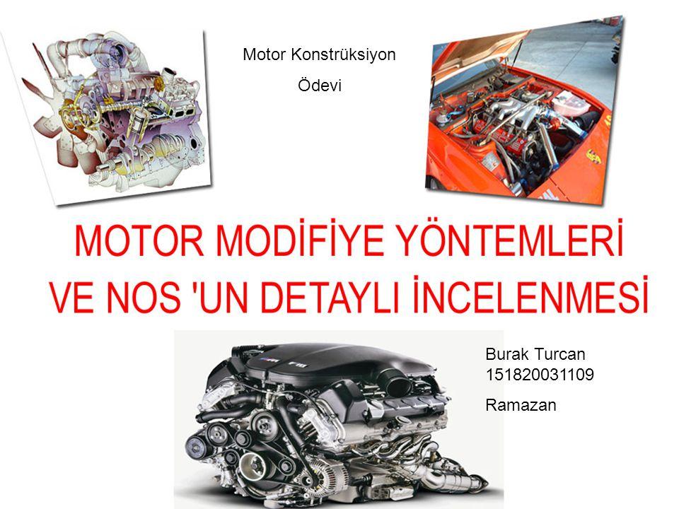 Burak Turcan 151820031109 Ramazan Motor Konstrüksiyon Ödevi