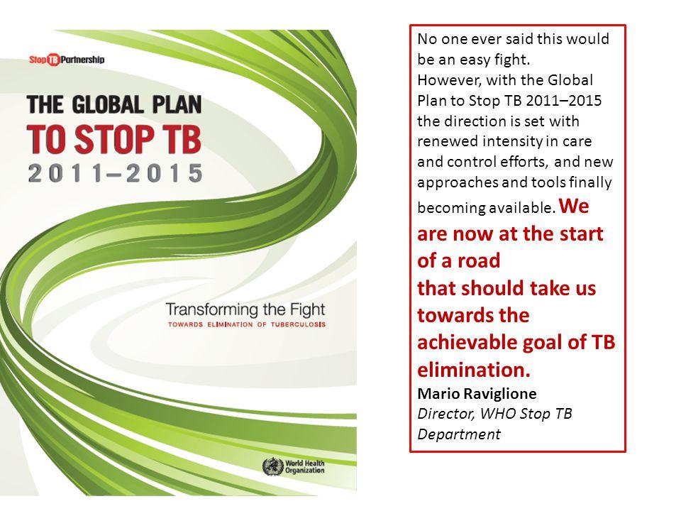 Hedefle ulaşsak ve insidans yılda % 10 azalmaya devam etse bile TB insidansı 2050 yılında 1/1000000 hedefinin 20 katında kalacaktır.