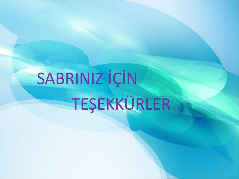 SABRINIZ İÇİN TEŞEKKÜRLER 111