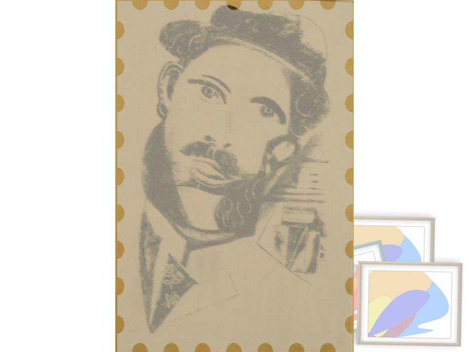 Favorili Adam, 1922-23 Taşbaskı,28/35 Anna Ticho'nun miras yoluyla bağışı, Kudüs Man with Sideburns, 1922- 23 Lithograph, 28/35 Bequest of Anna Ticho, Jerusalem