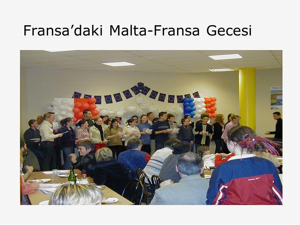 Fransa'daki Malta-Fransa Gecesi