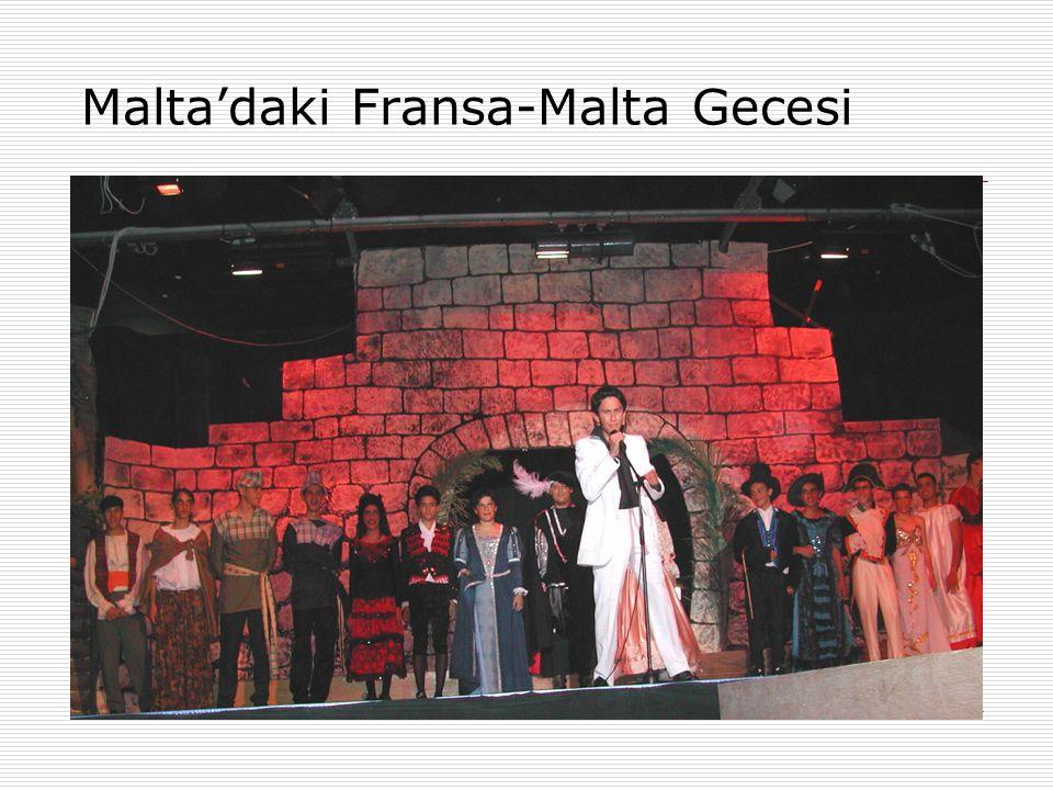 Malta'daki Fransa-Malta Gecesi