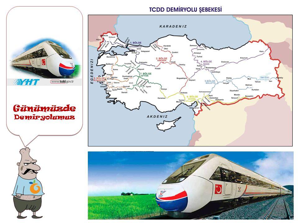 ilk Demiryolumuz İlk demiryolumuz İlk demiryolumuz 1856 yılında İzmir Aydın arasına bir İngiliz şirketi tarafından yapılmıştır. İzmir ve çevresinin ka