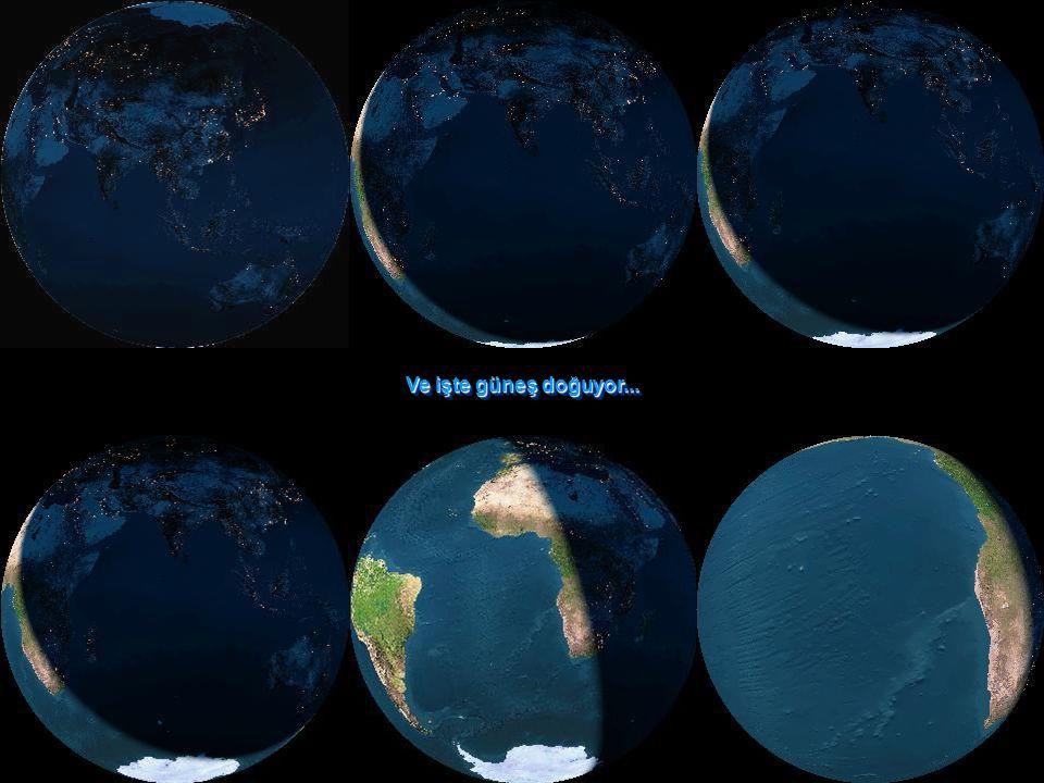 Yeryüzünün gece ışıkları Yeryüzünün gece ışıkları Uzaydan bakıldığında