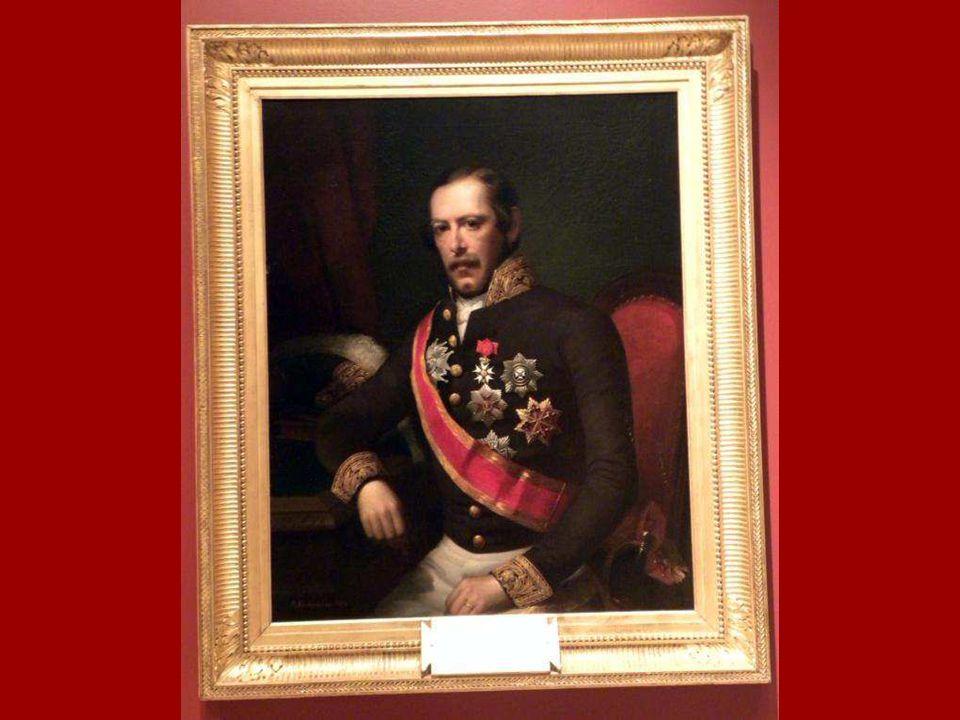 Fransa'nın İstanbul Büyükelçisi Antoine Edouard Thouvenel'in Portresi, Adolph Diedrich Kindermann, Tuval üstüne yağlıboya 1854 Portrait of Antoine Edo
