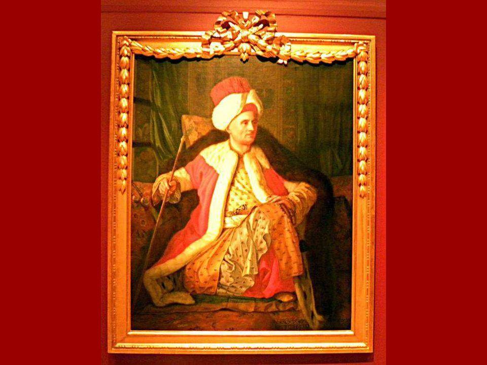 Fransız Büyükelçisi Vergennes Kontu Charles Gravier'nin Türk Giysileri İçinde Portresi, Antoine de Favray, Tuval üstüne yağlıboya 1766 Portrait of Cha