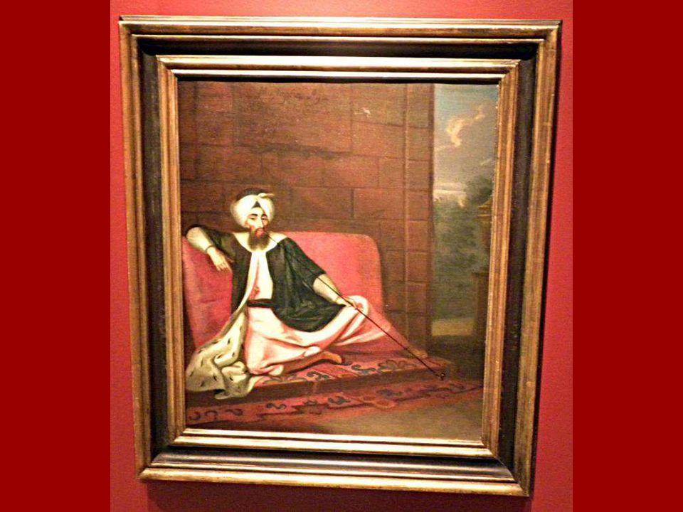Kozbekçi Mustafa Ağa, Ressamı belirsiz George Engelhardt Schröder, Tuval üstüne yağlıboya 18.yüzyıl sonrası 1728 Kozbekçi Mustafa Ağa Unknown painter