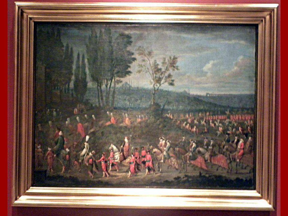 Elçi Alayı Jean Baptiste Vanmour, Tuval üstüne yağlıboya 1725 (?) The Ambassadorial Procession, Jean Baptiste Vanmour Oil on canvas 1725(?)