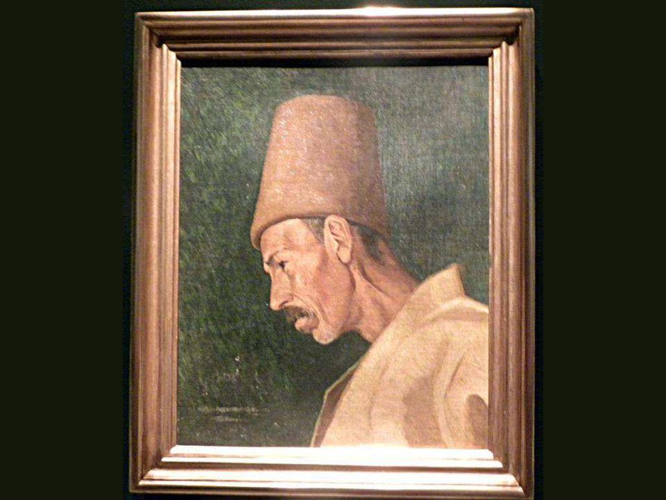 Kökemoğlu Rıza Efendi, Osman Hamdi Bey, Tuval üstüne yağlıboya,1871 Kökemoğlu Rıza Efendi, Osman Hamdi Bey, Oil on canvas,1871