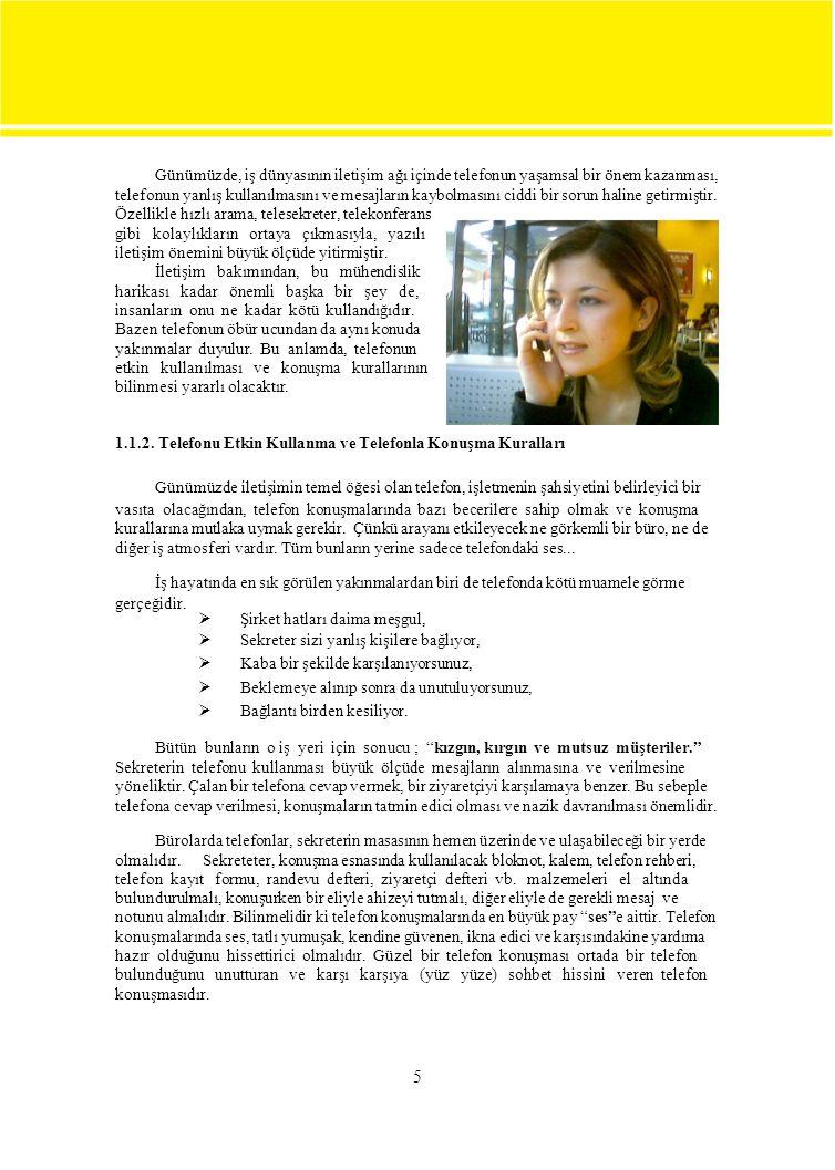  Türk Telekom'un kod ve telefon numaraları rehberini inceleyiniz ve edindiğiniz bilgileri not ederek sınıftaki arkadaşlarınızla paylaşınız.
