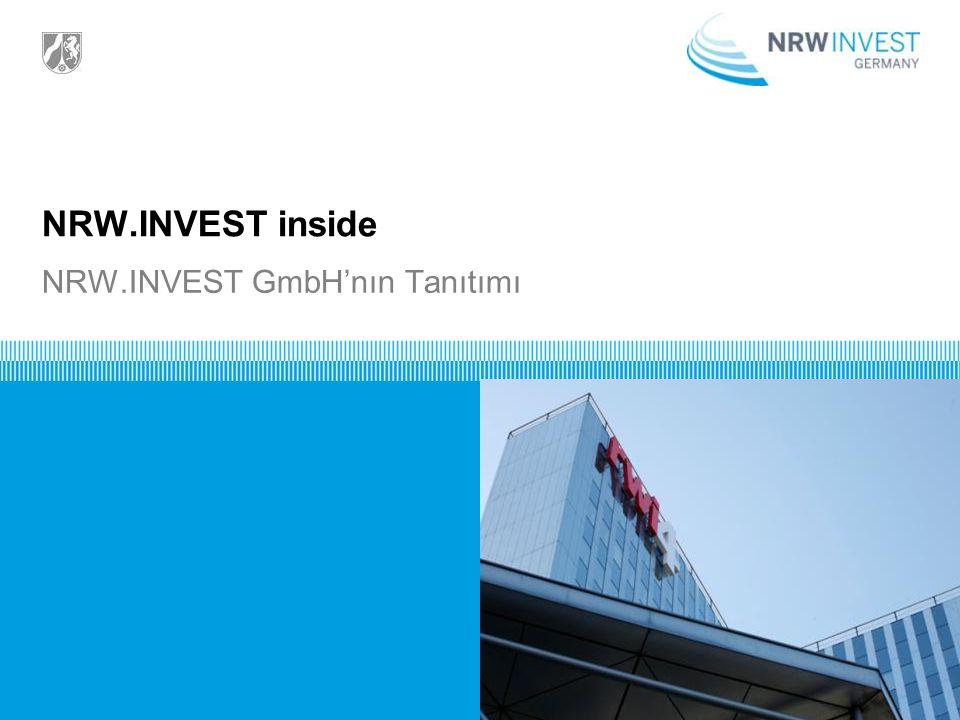 NRW.INVEST inside NRW.INVEST GmbH'nın Tanıtımı