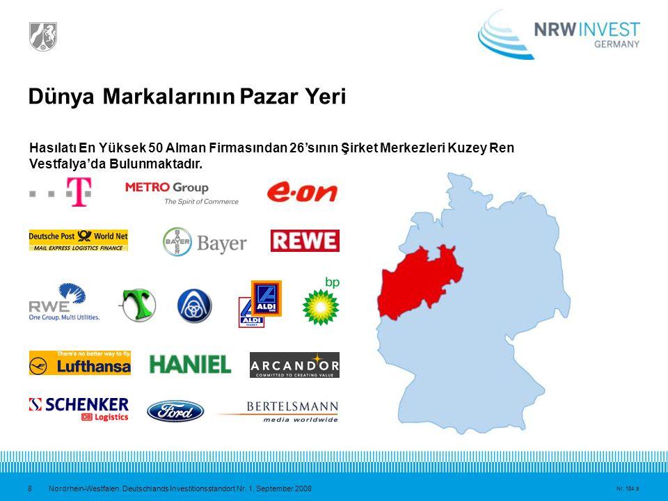 9 Nordrhein-Westfalen.Deutschlands Investitionsstandort Nr.