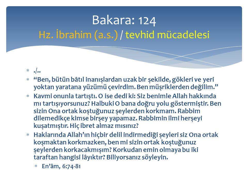  Üstünlük soyda değil  Allah kâfirlere örnek olarak Nuh'un karısı ile Lût'un karısını gösterdi.
