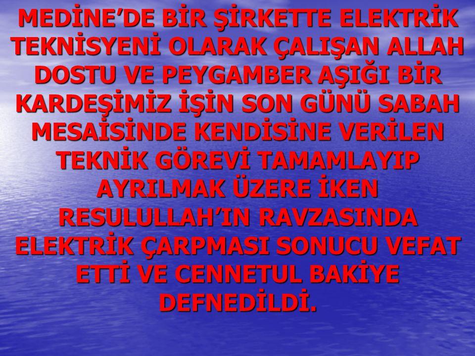 TABİİ AİLESİ MECBURİ İSTİKAMET TÜRKİYE'YE DÖNDÜ.