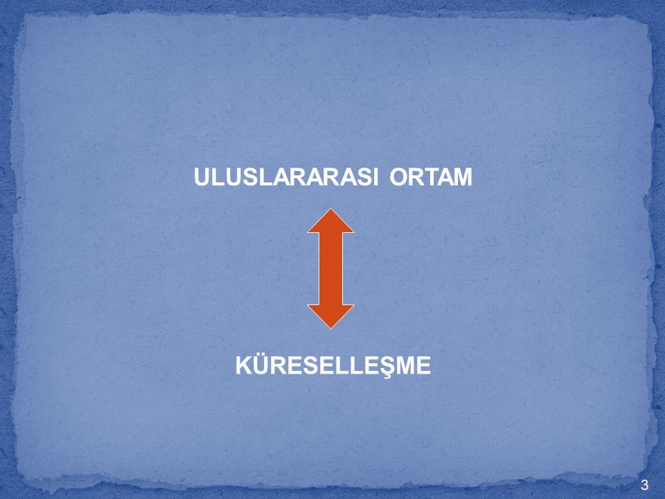 ULUSLARARASI ORTAM KÜRESELLEŞME 3