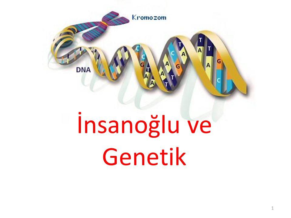 İnsanoğlu ve Genetik 1