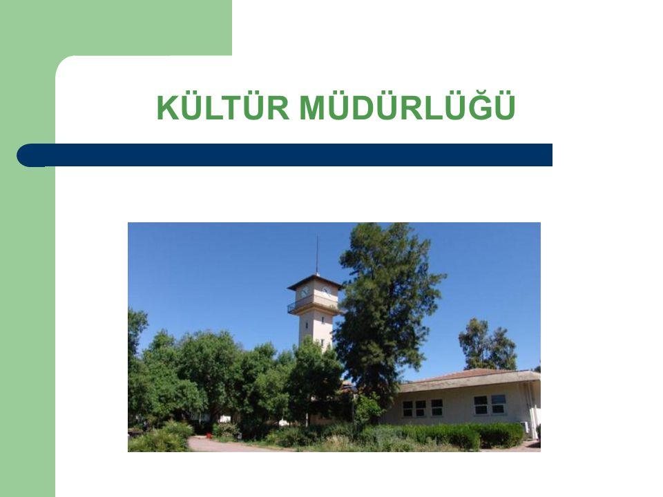 KÜLTÜR MÜDÜRLÜĞÜ ETKİNLİKLERİ Sosyal, sanatsal ve kültürel bir eğitim-öğretim merkezi olan Kültür Müdürlüğümüz, Öğrenci kulüpleri ve topluluk faaliyetlerini yürütür Türkiye genelinde çeşitli gösteri, konser ve yarışmalara katılır.