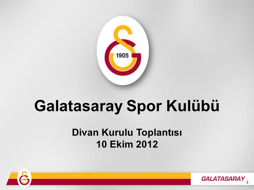 Galatasaray Spor Kulübü Divan Kurulu Toplantısı 10 Ekim 2012 1