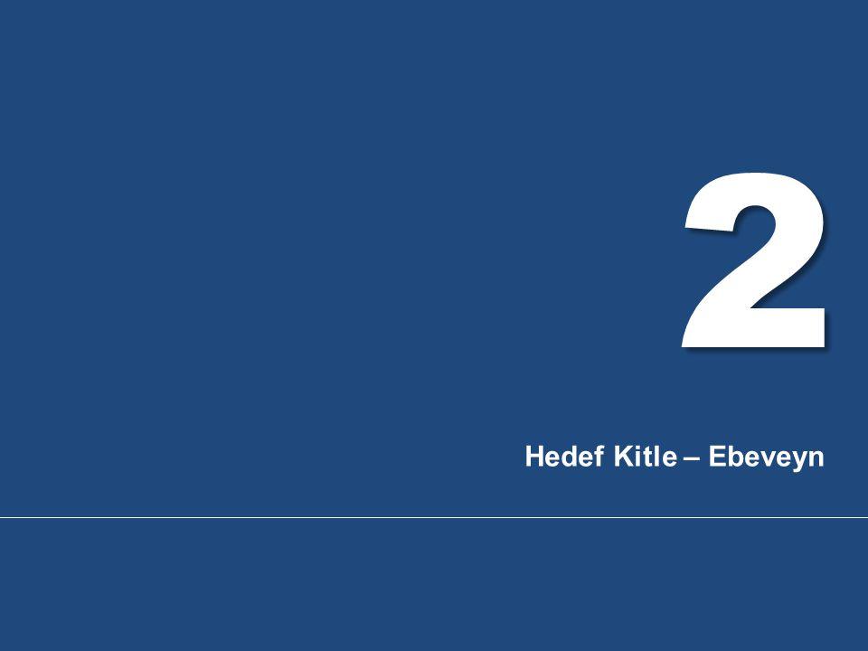 2 Hedef Kitle – Ebeveyn