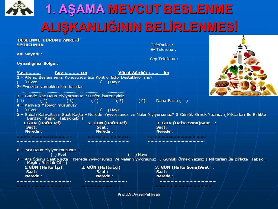 Prof.Dr.Aysel Pehlivan 1.