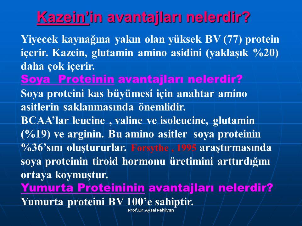 Prof.Dr.Aysel Pehlivan Kazein'in avantajları nelerdir.